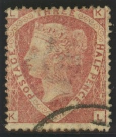 1870 1½d Rose red SG 51 Plate 3