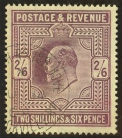1902 2/6 Dull purple SG 262