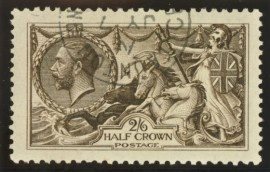 1913 2/6 Deep sepia brown SG 399