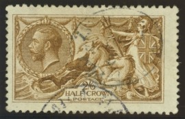 1915 2/6 Deep yellow brown SG 405
