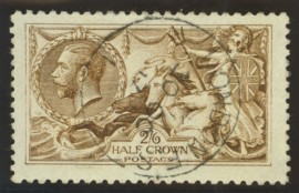 1915 2/6 Deep yellow brown SG 406