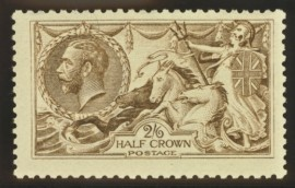 1915 2/6 Deep yellow brown SG 407 SG Spec N 64 (3)