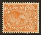 1924 2d Orange variety watermark sideways SG 421b