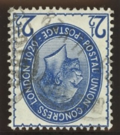 1929 2½d PUC Variety inverted watermark SG 437i