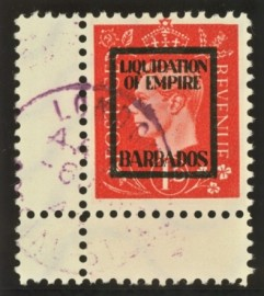 1937 1d German propaganda forgery