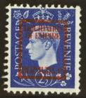 1937 2½d German propaganda forgery liquidation of empire