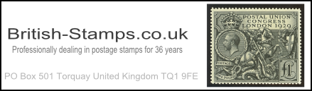 British-Stamps.co.uk for Rare GB stamps